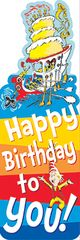 Bookmarks - Dr Seuss Happy Birthday - Pk 36 EU834201