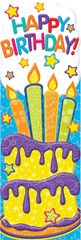 Bookmarks - Color My World Happy Birthday - Pk 36 EU834382