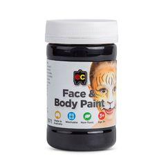 Face Paint 175ml Black 9314289026677