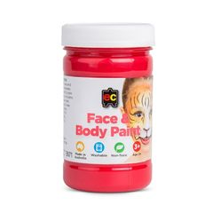 Face Paint 175ml Red 9314289026707