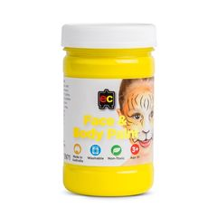 Face Paint 175ml Yellow 9314289026721