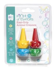 Crayons Easi-Grip Animal Set of 4 9314289030513
