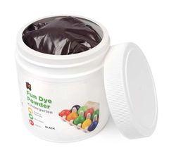 Craft Fun Dye Powder 500gms Black 9314289004521