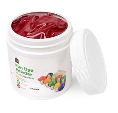 Craft Fun Dye Powder 500gms Orange 9314289004569