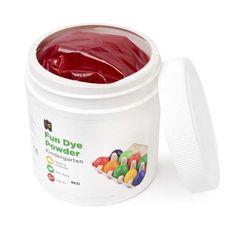 Craft Fun Dye Powder 500gms Red 9314289004583