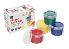 Finger Paint - Set of 4 x 100ml 9314289032005