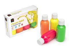 Rainbow Paint Fluoro - Set of 4 x 100ml 9314289030650