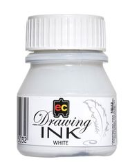 Drawing Ink 30ml White 93355032