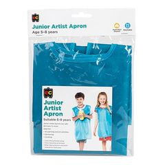 Apron Junior Artist Light Blue 9314289032272