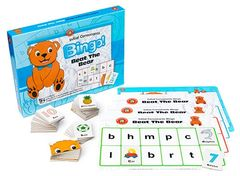 Beat The Bear Initial Consonants Bingo 9314289015824
