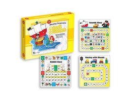 Blending Consonants Desk Games Pack of 3 Games 9314289026547