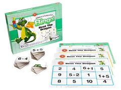 Beat The Dragon Addition And Subtraction Bingo 9314289015831