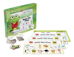 Beat The Frog Rhyming Words Bingo 9314289015855