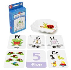 Flashcards Alphabet and Numbers 1-10  9314289029197
