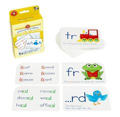 Blending Consonants & Digraphs Flashcards 9314289031480