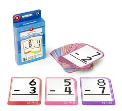 Flashcards Subtraction 0-15  9314289029159