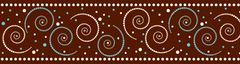 Border - Hot To Dot Swirl LL951B