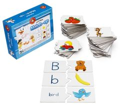 Mix & Match The Alphabet 72 Cards & Case 9314289016296