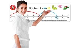 Large Number Line & Pen 0-10 & 0-30 double sided  9314289016487