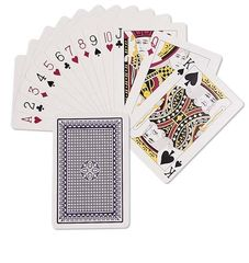 Playing Cards Plastic Boxed 9314289024086
