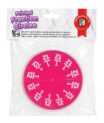 Fraction Circles Printed  9314289029661