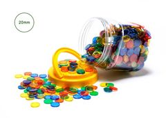Counters Small Transparent Jar of 1000 9314289015701