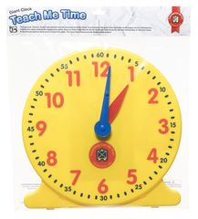 Teach Me Time Giant Clock Hangsell 9314289029623