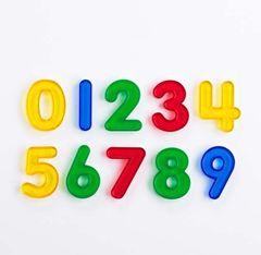 Numbers Transparent 10 Piece Set 9314289029029