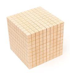 Wooden Base Ten Block 1 pc 9314289021399
