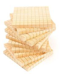 Wooden Base Ten Flats 10pc 9314289021405
