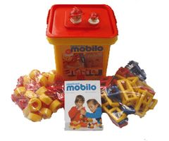 Mobilo Junior Bucket [ 78 Connectors 26 Geometrics 2 Faces] MOBJB