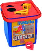 Mobilo Sort Bucket 54 Pieces MOB254