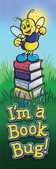 Bookmarks - I'M A Book Bug! - Pk 36  NS2012