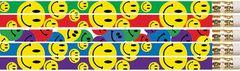Pencils - Happy Faces - Pk 12  PCLD1467P12