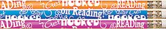 Pencils - Get Hooked On Reading - Pk 12  PCLD1477P12