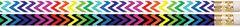 Pencils - Chevron N' Colours - Pk 12  PCLD2553P12