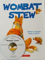 Childrens Talking Books: Wombat Stew Listening Post Set (4 Books and 1 CD) 2770000043984