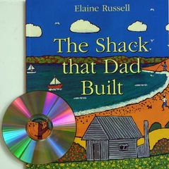 Childrens Talking Books: The Shack that Dad Built Listening Post Set (4 Books and 1 CD) 2770000044035