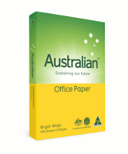 Copy Paper A3 Australian Bright White Ream 500 80gsm - Made in Australia - Carbon Neutral 9311995621233