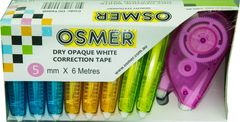 Correction Tape Pk 10 5mmx6M Osmer  9313023600104