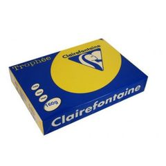 Trophee Copy Card A4 160gsm Pk 250 Sheets Sunflower