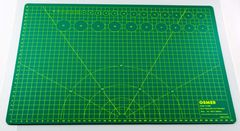 Cutting Mat A2 600X450X3mm Osmer Green Self Healing Double Sided *Each* 9313023003042
