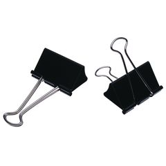 Foldback Clips Celco No.3 Double 32Mm Bx12  9311960043497