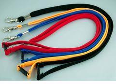 Lanyards Pk 20 Asst Cols D-Clip Osmer -Tubular Woven Polyester & Safety Release 9313023202193