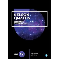 Nelson QMaths 12 Mathematics Essential Student Book 9780170412681