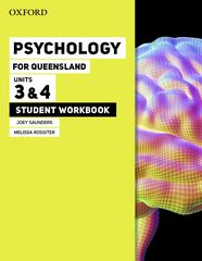 Psychology for Queensland Units 3 & 4 Student workbook