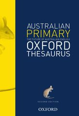 The Australian Primary Oxford Thesaurus 9780195510560