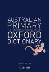 Australian Primary Oxford Dictionary 9780195597431