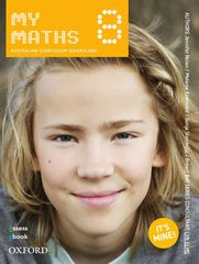 MyMaths 8 Australian Curriculum for Qld Student book + obook assess