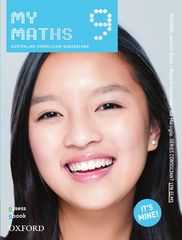 MyMaths 9 Australian Curriculum for Qld Student book + obook assess